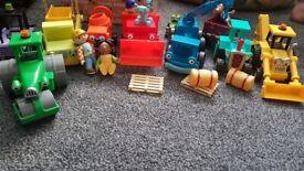 Original bob the build toys