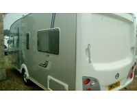 Swift conqueror 540 fixed bed 2008 touring caravan