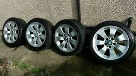 BMW alloys wheel 225 45 17