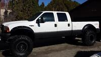 lifted 1999 Ford f350