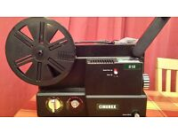 Cinerex 8mm Dual Movie Projector with auto threading