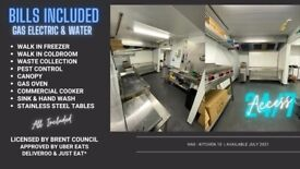 Commercial Kitchen with OWN COLD ROOM -! ALL BILLS INCLUDED ! - Dark Ghost Production Delivery unit