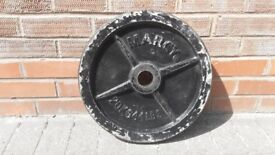 1 x 20KG ODD OLYMPIC WEIGHT PLATE