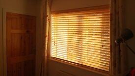 Set Of 3 High Quality Solid Wood Venetian Window Blinds