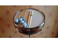 New era original snare drum with sticks and stand