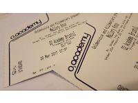 Mallory Knox Tickets Bristol 20th March