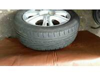 "Vauhall Corsa D 16"" Alloy Wheel/Tyre"