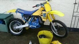 Suzuki rm250 slingshot 1988 spares or repairs