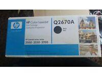 HP INK CARTRIDGES 3500/3550/3700 Q2670A