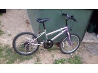 Girls bike good condition but just have a litle rust shown on photo