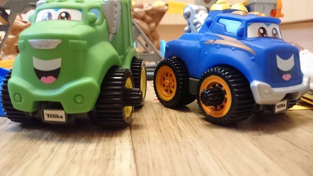Tonka Chuck And Friends Chucks Stunt Park 2 Tonka Cars And Extras