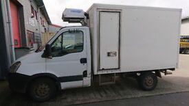 Freezer Box Van Iveco 35S 11cc MWB