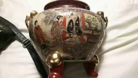 SATSUMA WARE GINGER JAR