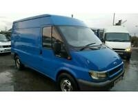 Ford transit van lwb Sami high low mileage