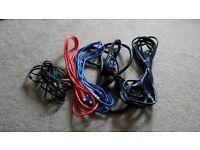 Audio, Visual & Studio Cables. £10