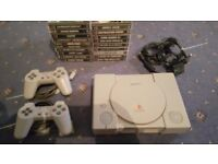 PS1 with 19 games