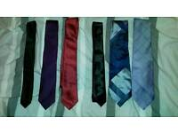 Ties and brand new shirt tie set in package