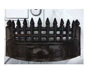 Fire grate and fire basket vintage