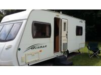 Lunar Quasar 534 fixed bed - 4 berth - 2009 Caravan