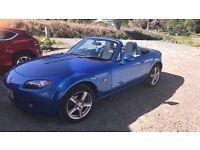 Mazda MX5 Metallic Blue