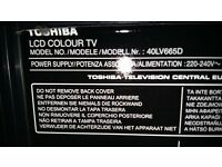 Toshiba Regza HD LCD 40 INCH TV