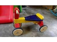 Wooden Toddler Pushbike
