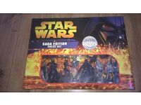 Star Wars Saga Edition chess set. never taken out of box. very rare and numbered.