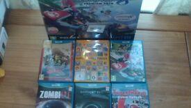 Wii U Premium Mario Kart 8 + 6 Games + 8 months Guarantee