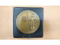Addressograph Multigraph 25 year Service Medal - Bronze