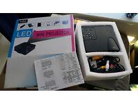 Mini Projector Portable HD 1080P Multimedia Home Theater PC LED VGA USB HDMI H80