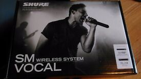 SHURE SM58 Wireless mic system