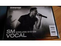 SHURE SM58 Wireless mic system