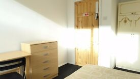 Short let single room available in All saints station. £130pw all incl