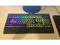 Corsair Strafe RGB Cherry MX Brown/Red Dragon Lite