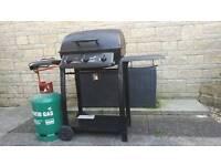 BBQ blooma surnaco 3 burner gas bbq with side burner