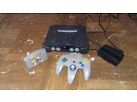 NINTENDO 64 Gameong console