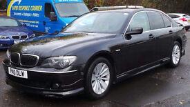 2006 56 BMW 730D SE AUTO DIESEL BLACK FULL BODYKIT LOOKS STUNNING (CHEAPER PART EX WELCOME)