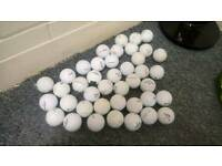 Mixed golf balls bargain price £15 FOR 50