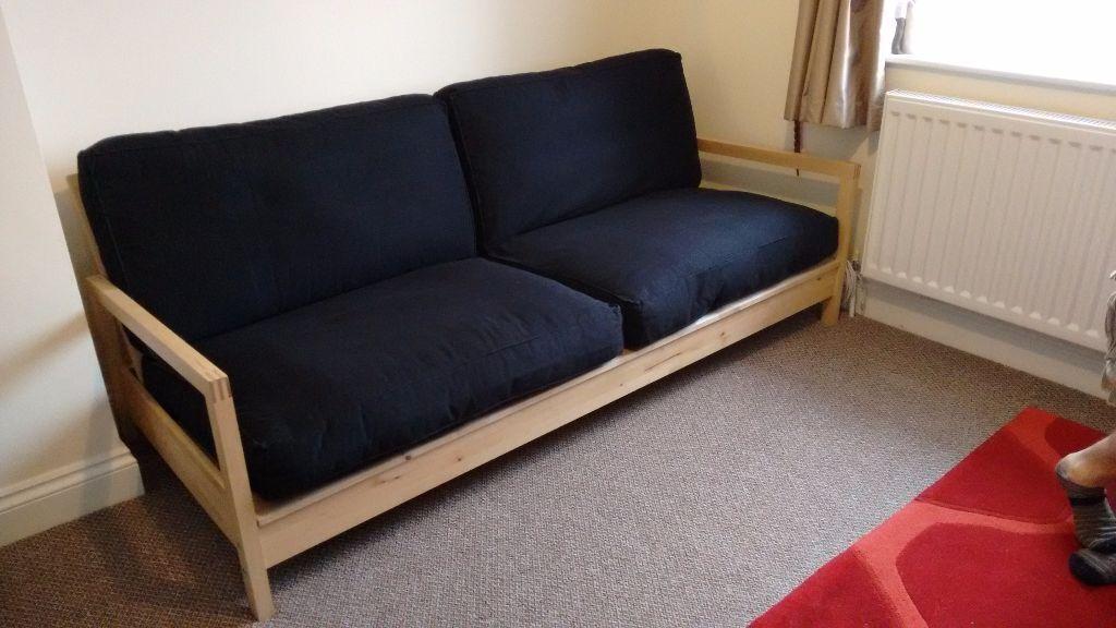 Black Ikea Lillberg Futon Sofa Bed Futon Ikea Black Lillberg Sofa Bed Thesofa