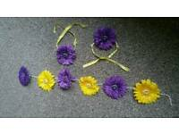 Artificial Flower Garland For Mehndi
