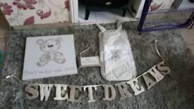 Baby unisex nursery bundle
