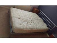Jay-Be King Size Metal Bed Frame & Mattress