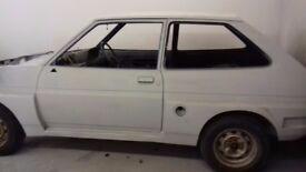Ford fiesta mk1 rolling shell 1985 £995 o.n.o
