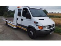2002 52 2.8TD IVECO 65C TILT&SLIDE RECOVER TRUCK 1 YEAR PLATE/MOT READY FOR WORK