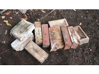 Approx 30 full Bricks + 3 Bags Broken Half Bricks
