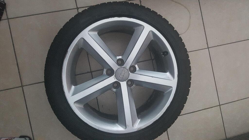 Alloys wheels Audi A4 S Line 2012