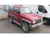 For sale is my daihatsu sportrak £ 250