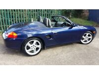 2001 PORSCHE BOXSTER 2.7, RECENT SERVICE & TYRES, HISTORY, WARRANTY, OUTSTANDING THROUGHOUT