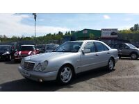 1998 (R reg) Mercedes-Benz E Class 3.0 E300 Avantgarde 4dr Saloon FOR £995 SOLD WITH 12 MONTHS MOT