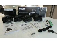 BOXED THULE 754 + 1333 + 544 RAPID SYSTEM FOOTPACK KIT TO FIT A MITSUBISHI GRANDIS